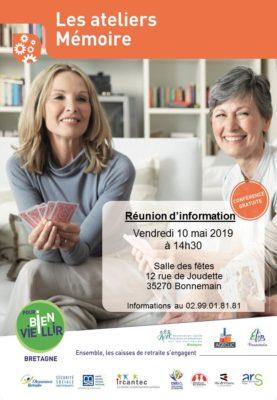 Atelier Mémoire - Bonnemain (35) @ Salle des Fêtes | Bonnemain | Bretagne | France