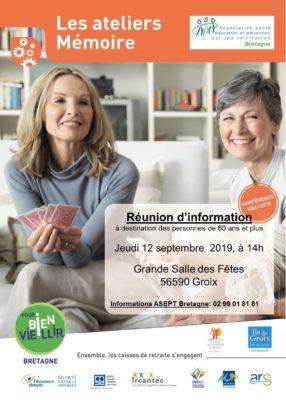 Atelier Mémoire - Groix (56) @ Salle des Fêtes | Bretagne | France