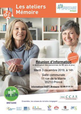 Atelier Mémoire - Princé (35) @ Salle communale | Prince | Bretagne | France