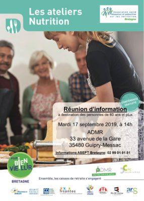 Atelier Nutrition - Guipry-Messac (35) @ ADMR | Messac | Bretagne | France
