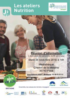 Atelier Nutrition - Pacé (35) @ Médiathèque | Pacé | Bretagne | France