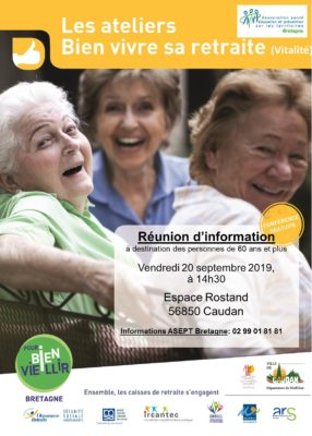 Atelier Vitalité - Caudan (56) @ Espace Rostand | Caudan | Bretagne | France