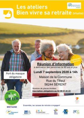 Atelier Vitalité - Sérent (56) @ Maison de la Commune | Sérent | Bretagne | France
