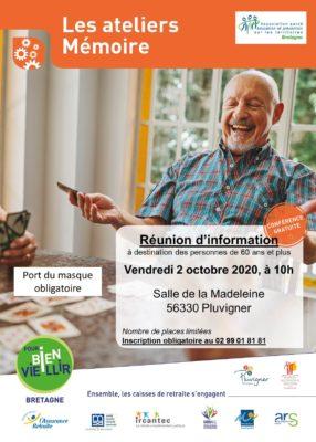 Ateliers Mémoire - Pluvigner (56) @ Salle de la Madeleine   Pluvigner   Bretagne   France