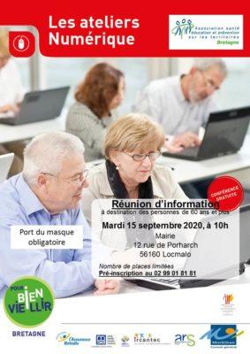 Ateliers Numérique - Locmalo (56) @ Salle du Conseil, Mairie | Locmalo | Bretagne | France