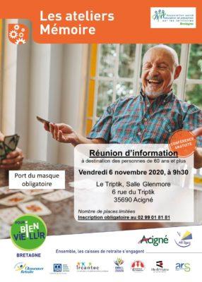 Ateliers Mémoire - Acigné (35) @ Le Triptik, Salle Glenmor   Acigné   Bretagne   France