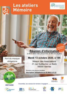 Ateliers mémoire - Vannes (56) @ Maison des Associations   Vannes   Bretagne   France
