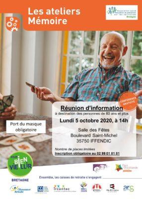 Atelier Mémoire - Iffendic (35) @ Salle des Fêtes   Iffendic   Bretagne   France