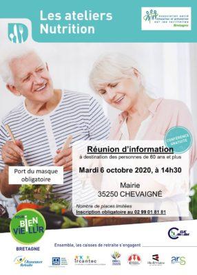 Ateliers Nutrition - Chevaigné (35) @ Mairie | Chevaigné | Bretagne | France