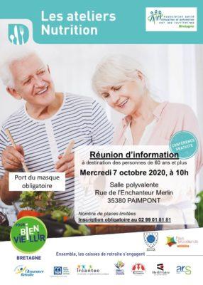 Ateliers Nutrition - Paimpont (35) @ Salle polyvalente | Paimpont | Bretagne | France