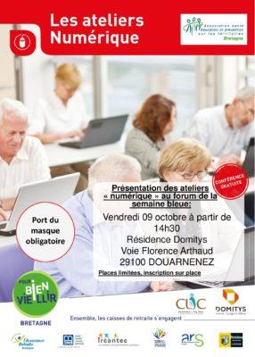 atelier numérique - Douarnenez @ résidence Domitys | Douarnenez | Bretagne | France