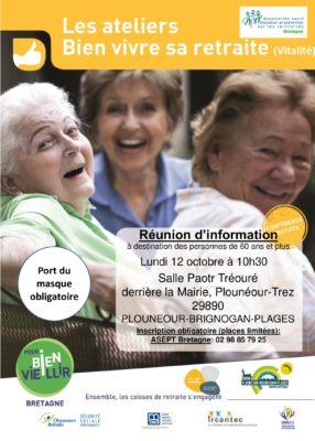 atelier vitalité - Plounéour Brignogan Plages @ salle paotr tréouré | Plounéour-Trez | Bretagne | France
