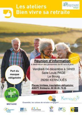 atelier vitalité - Kernouës @ salle louis page, le bourg | Kernouës | Bretagne | France