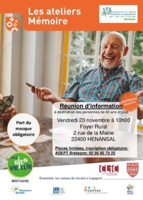 atelier mémoire - Hénansal @ foyer rural | Hénansal | Bretagne | France