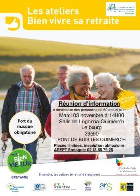 atelier vitalité - Pont de Buis les Quimerc'h @ salle de logonna-quimerc'h   Pont-de-Buis-lès-Quimerch   Bretagne   France