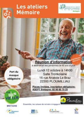 atelier mémoire - ploumilliau @ salle tronkolaine, 16 rue anatole le braz | Ploumilliau | Bretagne | France