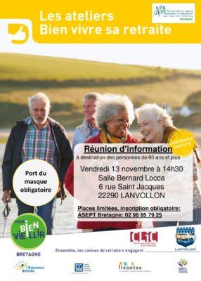 atelier vitalité - Lanvollon @ salle bernard locca   Lanvollon   Bretagne   France