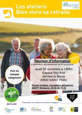 atelier vitalité - Saint-Pabu @ espace roz avel | Saint-Pabu | Bretagne | France