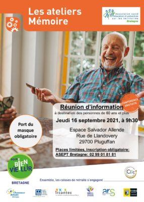 Ateliers Mémoire : Pluguffan (29) @ Espace Salvador Allende | Pluguffan | Bretagne | France