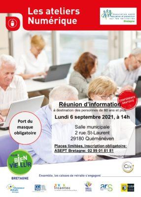 Ateliers Numérique : Quéménéven (29) @ Salle municipale | Quéménéven | Bretagne | France