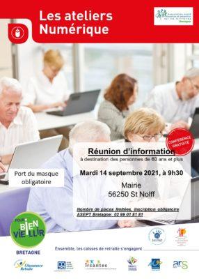 Ateliers Numérique: St Nolff (56) @ Salle du Conseil - Mairie | Saint-Nolff | Bretagne | France