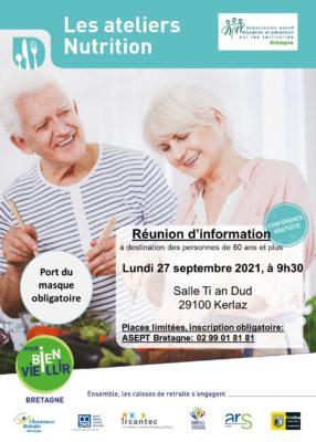 Ateliers Nutrition : Kerlaz (29) @ Salle Ti an Dud | Kerlaz | Bretagne | France