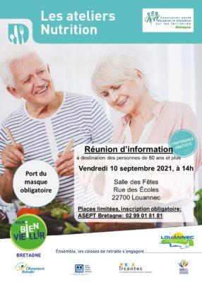 Ateliers Nutrition : Louannec (22) @ Salle des fêtes | Louannec | Bretagne | France