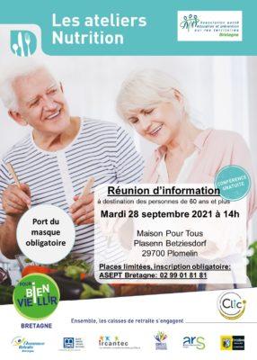 Ateliers Nutrition: Plomelin (29) @ Maison Pour Tous | Plomelin | Bretagne | France