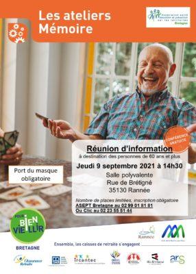 Ateliers Mémoire - Rannée (35) @ Salle polyvalente | Rannée | Bretagne | France